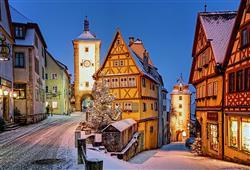 Město je symbolem vánoční romantiky