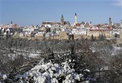 V Rothenburgu to stále dýchá dávnými časy