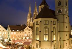 Pokud vám vadí shon a davy, Regensburg je přesně pro vás