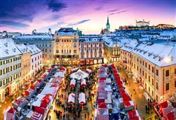 Slovenská metropole je v době adventu kouzelná