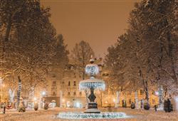 Když město zapadne sněhem, je to jako v pohádce