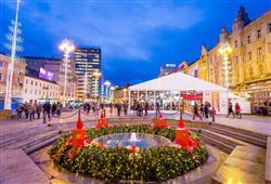 Každoročně se tato chorvatská metropole promění v místo živoucího vánočního veselí
