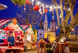 Vyhlášené vánoční trhy v Záhřebu2