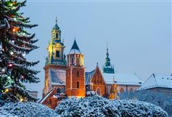 S průvodcem si projdete skvosty Krakova, podíváte se i na kopec Wawel