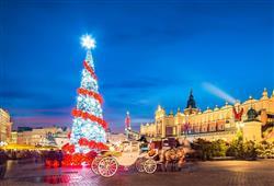 Město s živoucí historií a vánočním duchem – to je adventní Krakov