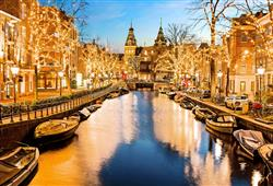 Vánoční Amsterdam ožívá jedinečným kouzlem