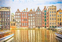 Architektura Amsterdamu je prostě jedinečná