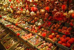 Nakoupit můžete tradiční ozdoby, ale i některé z mnoha alsaských pochoutek