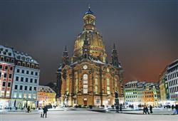 S průvodcem si projdete město, nebude chybět ani kostel Fraukenkirche