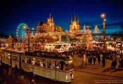 Vánoční trhy v Erfurtu právem patří mezi nejoblíbenější trhy v celé Evropě