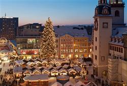 Další zastávkou jsou vánoční trhy v Saské Kamenici (Chemnitz)