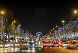 V zimním období má Paříž nezaměnitelné kouzlo