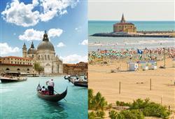 Zkrácená dovolená v Caorle s polopenzí + celodenní Benátky0