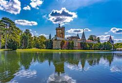 Navštivte oblíbený zámek Franzensburg!