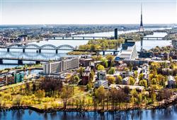 Hlavní město Lotyšska Riga