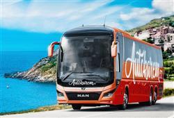 Po cestě zájezdu vás bude doprovázet moderní klimatizovaný autobus