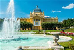 Zagreb je kulturním, uměleckým i akademickým centrem země