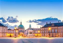 Amalienborg je hlavním sídlem dánské královské rodiny