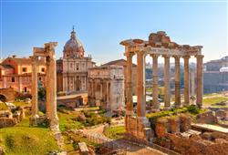 Forum Romanum bývalo centrem veřejného dění ve městě i říši
