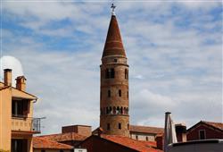 vyhlídková věž v Caorle