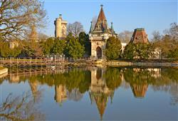 Kouzelný zámek Franzensburg, čokoládovna a plavba po podzemním jezeře7