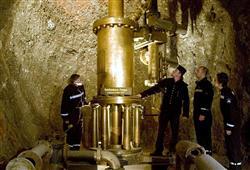 První naší zastávkou je solný důl v Berchtesgadenu. Asi hodinovou trasou vás provede kostýmovaný průvodce