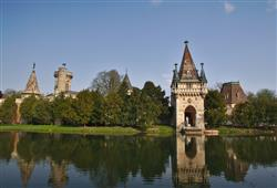 Kouzelný zámek Franzensburg, čokoládovna a plavba po podzemním jezeře19