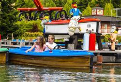 Legoland v německém Günzburgu byl otevřen v roce 2002. Celkově na světě je dalších osm Legolandů