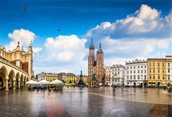 Rynek Glowny je jedním z největších středověkých náměstí na světě