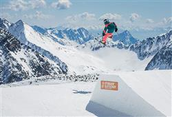 Jednodenní lyžování ledovec Stubai (Brněnská linka)4