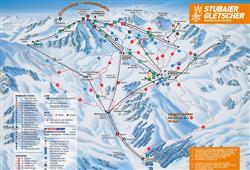 Jednodenní lyžování ledovec Stubai (Brněnská linka)14
