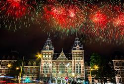 Silvestr v Amsterdamu1