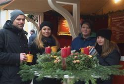 Advent na zámku Schloss Hof a čokoládovna Hauswirth6