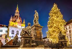 Adventní trhy ve štýrském Grazu0