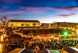 Advent na zámku Schloss Hof a čokoládovna Hauswirth0
