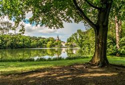 Kouzelný zámek Franzensburg, čokoládovna a plavba po podzemním jezeře14