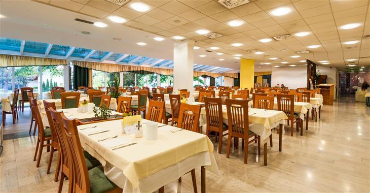 Restaurace v hotelu Lipa