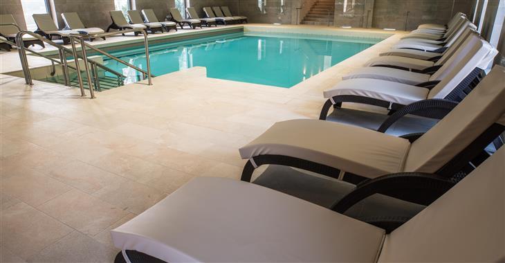 bazén v hotelu Termal
