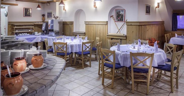restaurace v hotelu Krvavec