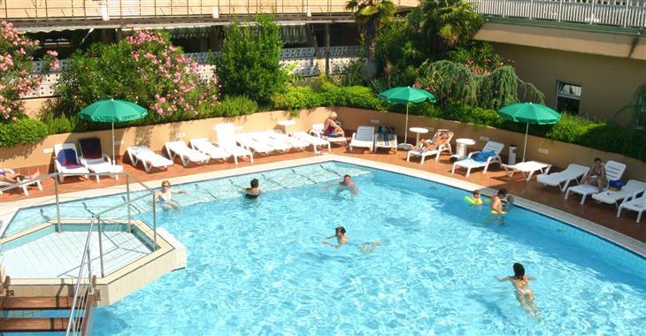 Bazény v hotelu Svoboda