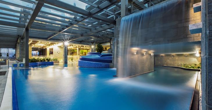 Bazénový komplex ve wellness Živa