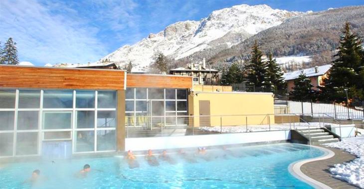 Pravý odpočinek po lyžování - Bormio Terme