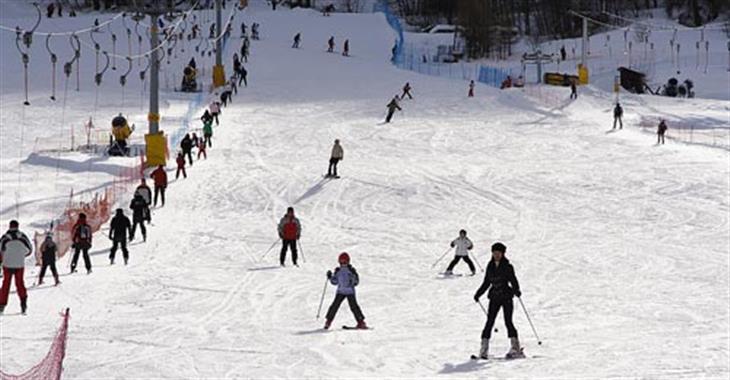 V Aprice naleznete také snowpark - ve výšce 1 800 m
