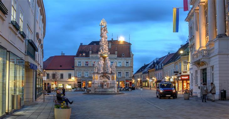 Historické centrum Badenu si projdeme s průvodcem