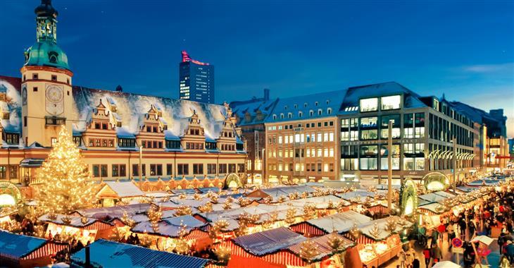Advent v kulisách historického města – to jsou trhy v Lipsku