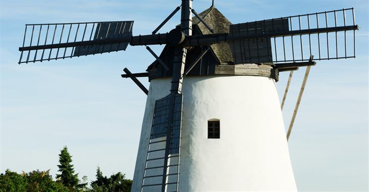 Na Kalvárii nad městem se tyčí jediný provozuschopný mlýn v Rakousku z 2. poloviny 18 století