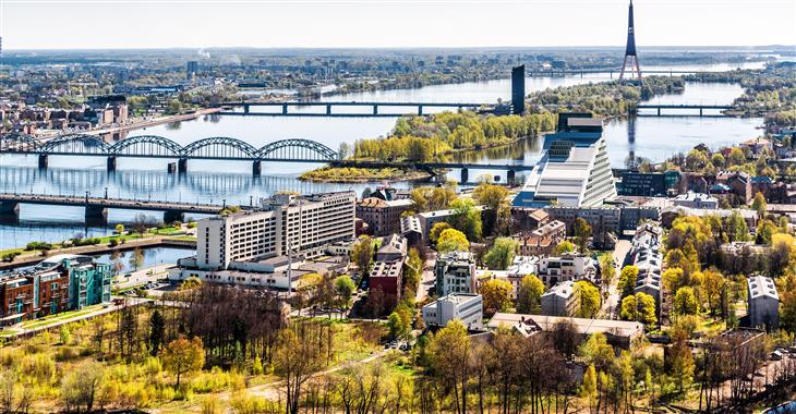 Hlavní město Estonska Tallin sice patří mezi malá hlavní města,  zato mezi ta nejrychleji se rozvíjející