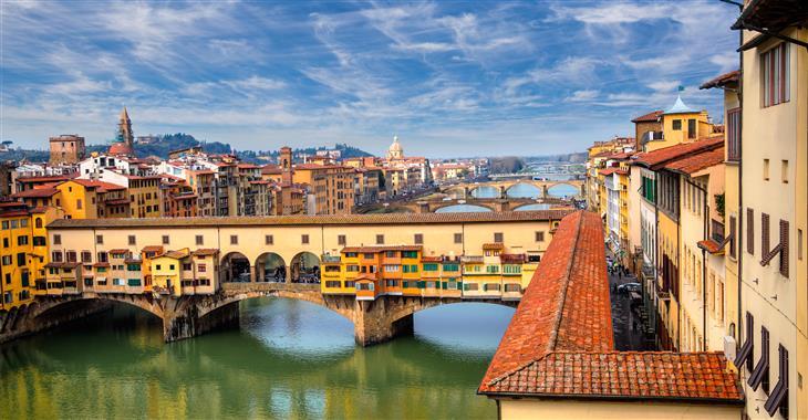Na vrchol Brunelleschiho kopule můžete vystoupat po více než 400 schodech